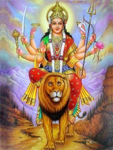 Bedeutung von Navaratri - Durga