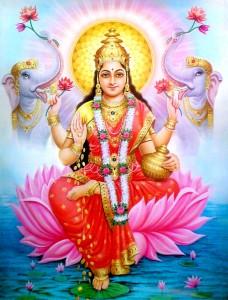 Bedeutung von Navaratri - Lakshmi