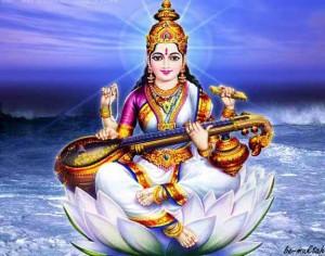 Bedeutung von Navaratri - Saraswati