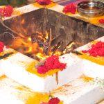 Feuerpuja mit Bhajansingen